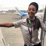 Marta Bodas, Tripulante Wamos Air.